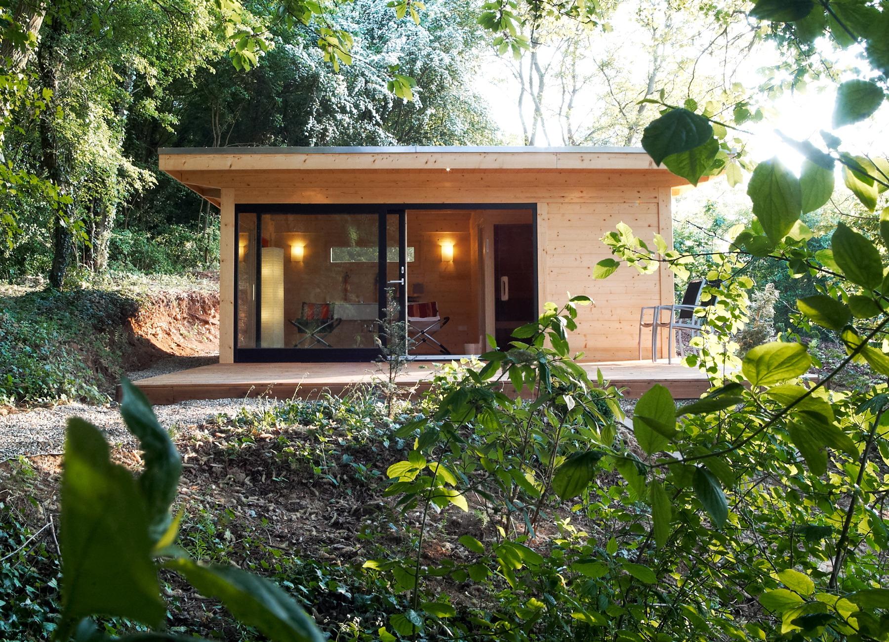 sauna whirlpoolh user von hummel blockhaus. Black Bedroom Furniture Sets. Home Design Ideas