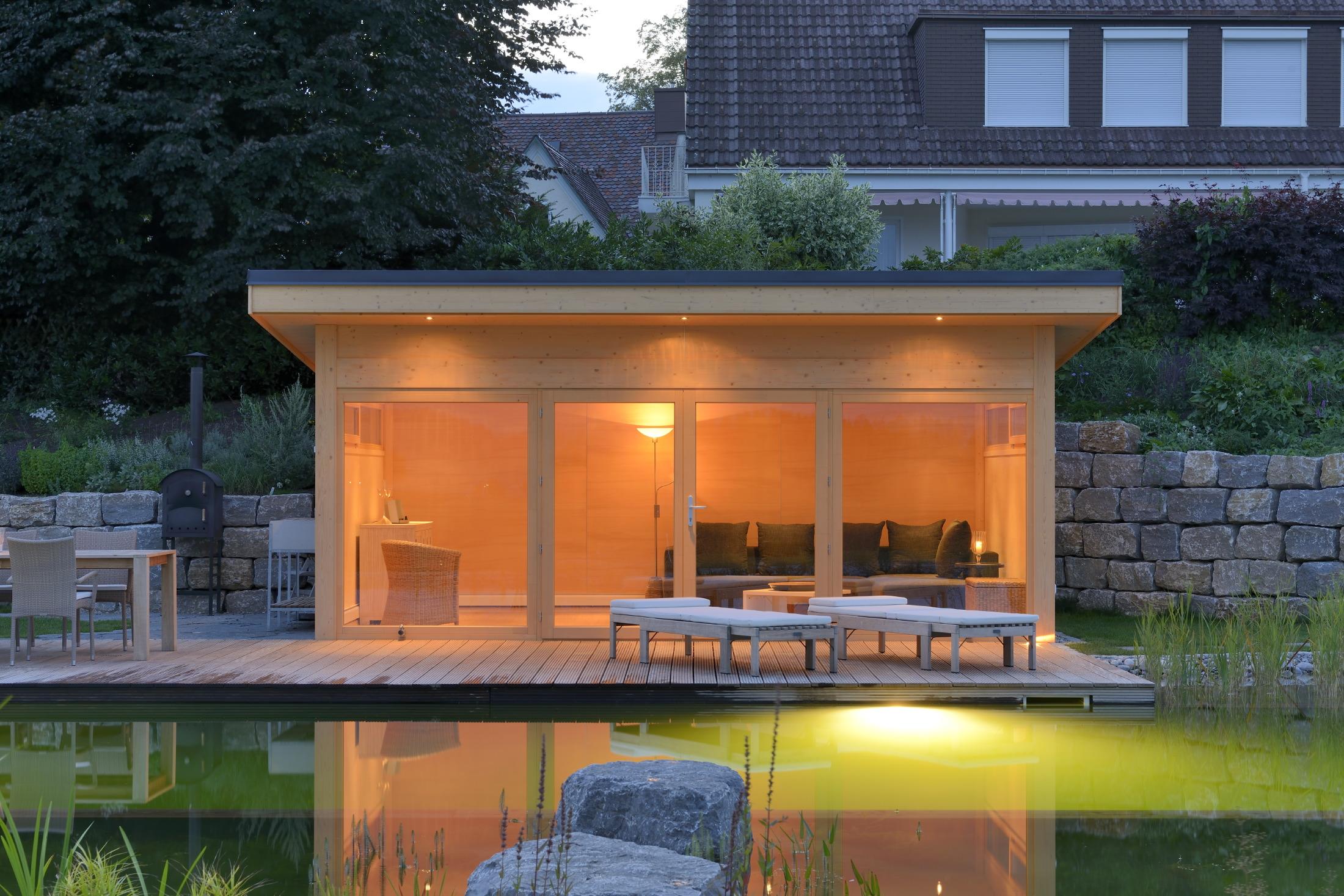 gartenh user von hummel blockhaus sind das wohnzimmer im eigenen garten. Black Bedroom Furniture Sets. Home Design Ideas
