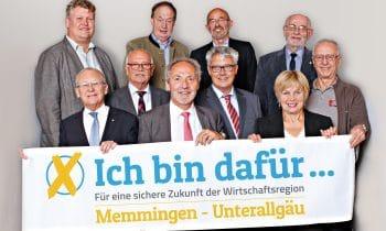 Gemeinsam für die Zukunft der Wirtschaftsregion Memmingen – Unterallgäu