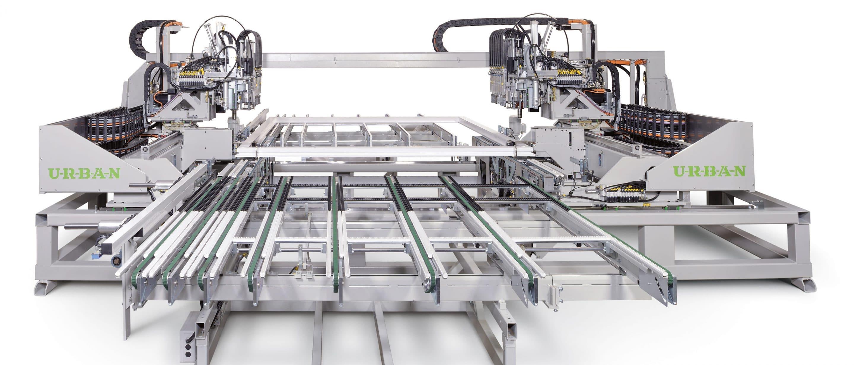Schweißmaschine für die PVC-Fensterindustrie