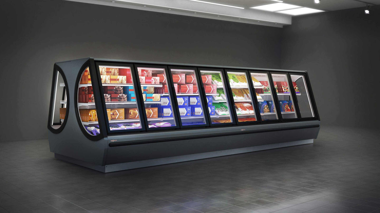 Der innovative Tiefkühlschrank Iconic von Viessmann.