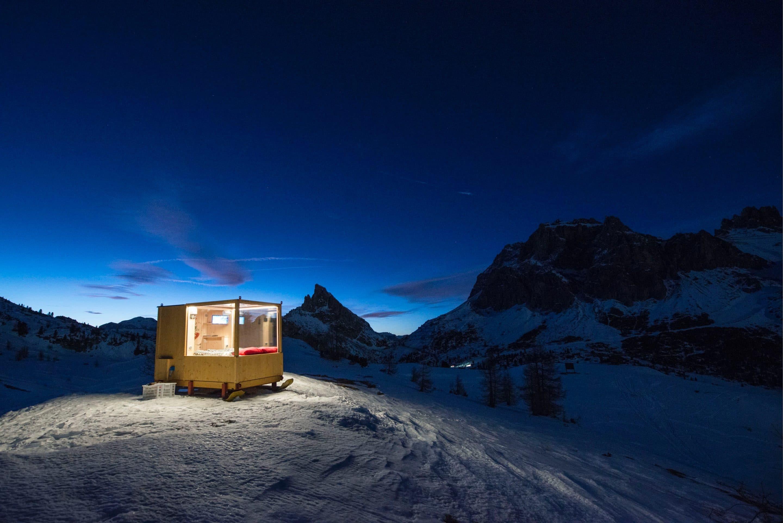 In Cortina den Sternen zum Greifen nah - Im Outdoor-Schlafzimmer auf ...