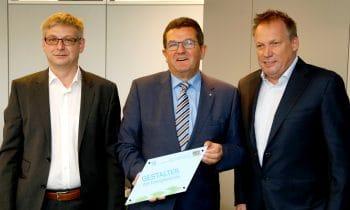 Gestalter der Energiewende – e-con AG erhält Umwelt-Auszeichnung des Bayerischen Wirtschaftsministeriums
