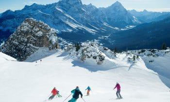 Auf zur Pisten-Königin: Perfekte Pisten für die besten Ski-Ladies beim Weltcup der Damen. Auch Hobby-Wintersportler dürfen sich in Cortina auf Fahrspaß pur freuen