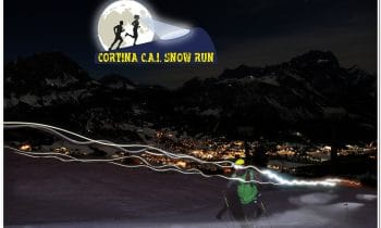 """Snow Run – Wenn Läufer die Pisten von Cortina erobern:  Premiere: Beim ersten """"Cortina C.A.I. Snow Run"""" geht es für Läufer über die weltberühmten Skipisten rund um Cortina d'Ampezzo"""