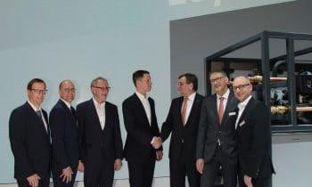 ALDI Nord und Viessmann stellen gemeinsames Energieprojekt vor