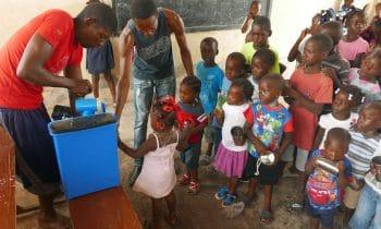 Wasserfilter aus dem Unterallgäu retten Leben in Haiti: 300 Kinder können sich täglich ihr Trinkwasser bereiten