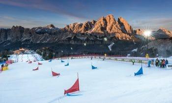 Ein Hauch von Olympia bei der Dolomitenkönigin – Beim FIS Snowboard Weltcup in Cortina bekommen Sportler und Fans bereits einen Vorgeschmack auf Pyeongchang