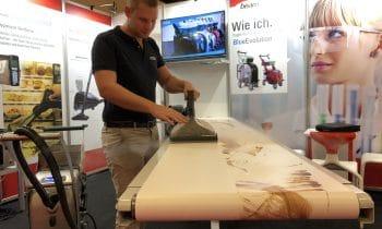 Die wirksamste Versuchung, seit es Reinigungsgeräte gibt – Die innovativen Dampfsaugsysteme der Blue-Evolution-Serie von beam begeistern auf der Fachmesse ProSweets in Köln