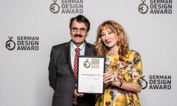 Designer-Preis für Fichtenplatte – VITA Naturholzplatte der elka-Holzwerke gewinnt den German Design Award 2018