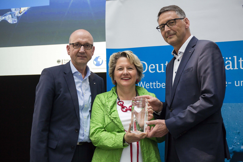 2. Platz beim Deutschen Kältepreis 2018 für ESyCool green – Effizientes Energiesystem von Viessmann erneut vom Bundesumweltministerium ausgezeichnet