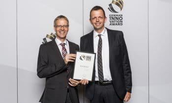 "And the winner is: TRI-O-THERM M – Produktinnovation der Marke Schwenk Putztechnik erhält den ""German Innovation Award 2018"""