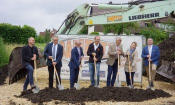 Startschuss für Millionenprojekt in Steinheim – Kreisbaugesellschaft Heidenheim investiert über 5,8 Millionen Euro und baut 27 neue Mietwohnungen