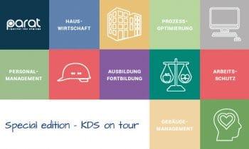 KDS on Tour: Die KDS macht (sich) mobil – für mehr Qualität in der Hygiene