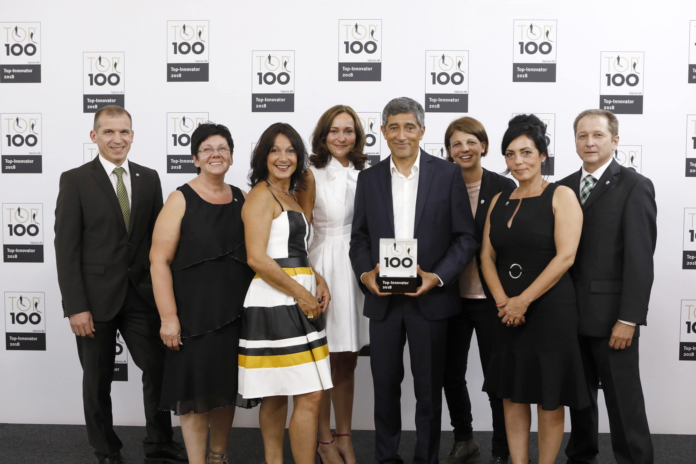 Erfolgs-Triple für die Schneider Kunststofftechnik – Das Familienunternehmen ist dreifach ausgezeichnet: German Innovation Award, German Brand Award und TOP 100