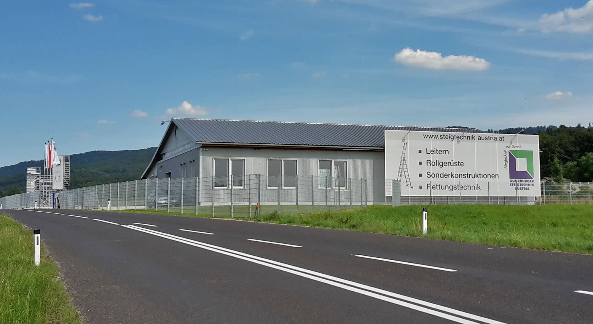 Günzburger Steigtechnik in Austria – Neue Niederlassung des Qualitätsherstellers in Aurach am Hongar