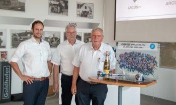 Seit 40 Jahren ist Jørn Bolding der Goldhofer-Repräsentant im hohen Norden
