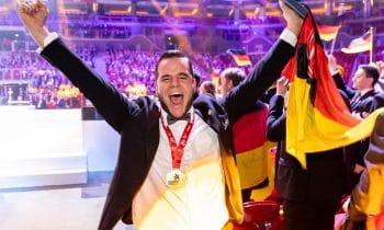 Alexander Schmidt ist Europameister der Stuckateure