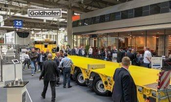 Weltpremiere von ARCUSPK und der ALLROUNDER als Messemagnet – Goldhofer auf der IAA Nutzfahrzeuge 2018 in Hannover