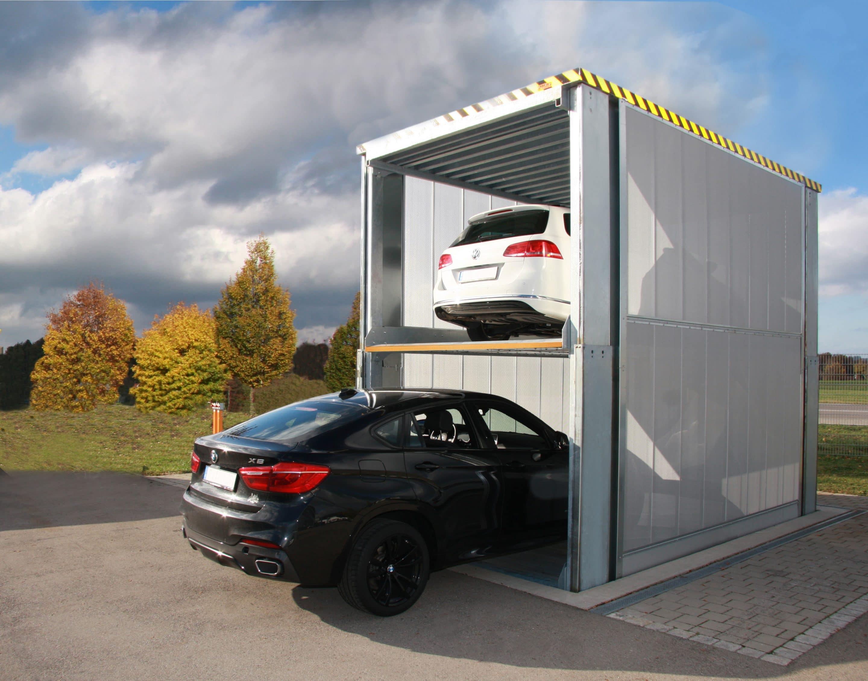 Unsichtbarer Parkraum 4.0 – Mit den neuen MultiBase-Unterflursystemen U10 und U20 von KLAUS Multiparking lassen sich Autos sicher unter der Erde parken
