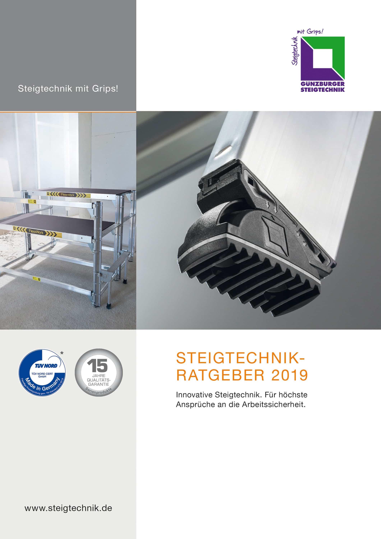 Top informiert über  Steigtechnik mit Grips – Der neue Steigtechnik-Ratgeber 2019: Geballtes Know-how auf 264 Seiten