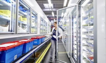 Ein Plus an Hygiene und Effizienz  – Die GEHE Pharma Handel GmbH setzt bei Ersatzinvestition in Nürnberg auf TectoCell-Kühlzellen von Viessmann