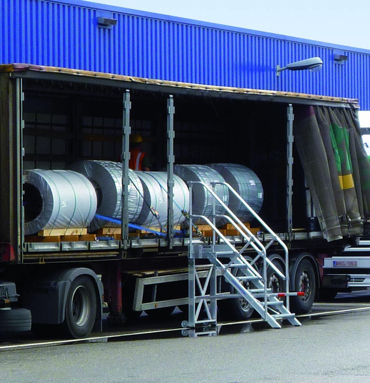 Günzburger Steigtechnik auf der NUFAM 2019: Top-Produkte für die Wartung und Instandhaltung von Nutzfahrzeugen – Günzburger Steigtechnik bietet umfassende Lösungen