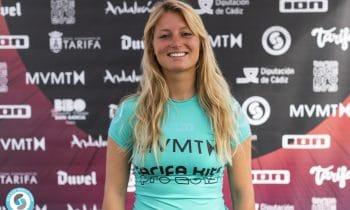 In der Welle fast verhungert – Trotz Flaute: Susanne Schwarztrauber auf Rang fünf bei Weltcup in Tarifa