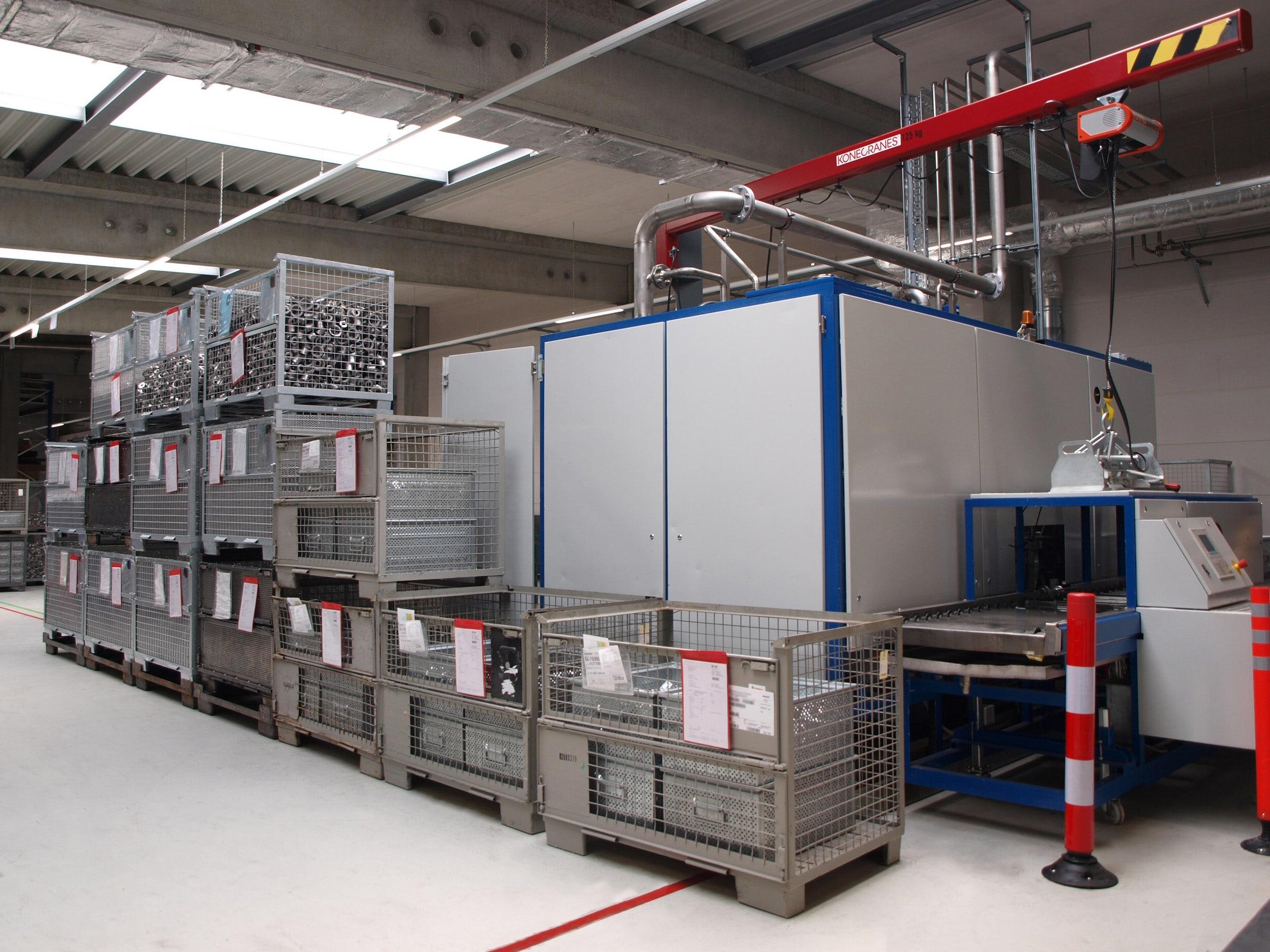 Für einen sicheren und stabilen Reinigungsprozess – parts2clean 2019: Die Richard Geiss GmbH hat die Lösemittelüberwachung und -pflege im Fokus