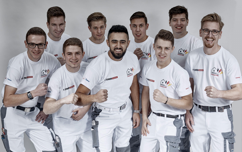 Deutschlands Stuckateure wollen den Weltrekord