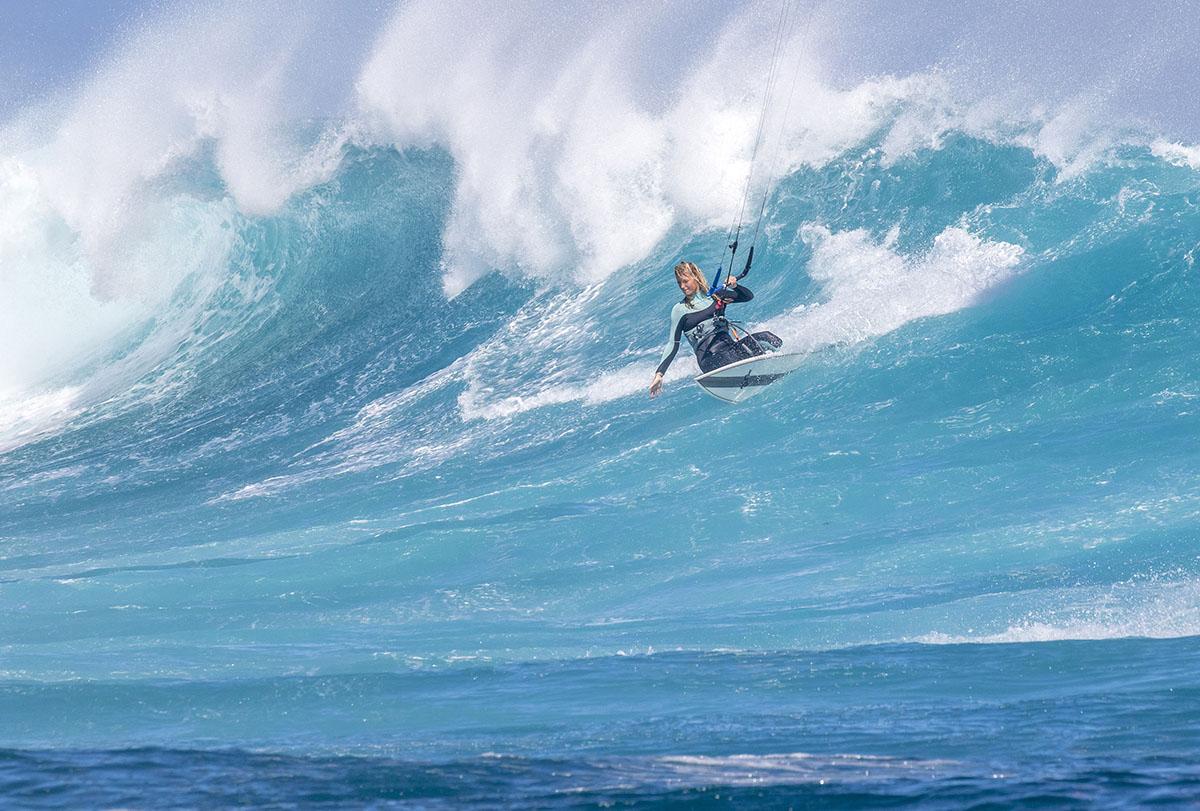 Hohe Wellen, hohe Hürden – Susanne Schwarztrauber beim Kitesurf Weltcup auf Mauritius