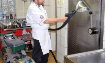 beam macht Schluss mit Keimen in der Food Industrie – HACCP-zertifizierte Dampfsaugsysteme der Blue-Evolution-Reihe töten Bakterien wirkungsvoll ab