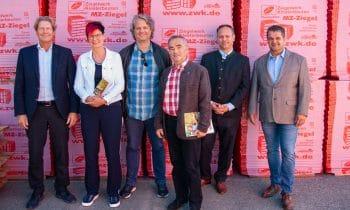 Baupolitisches Gespräch im Ziegelwerk Klosterbeuren – SPD-Stadtratsfraktion Memmingen und stellv. Landrat Unterallgäu informieren sich über die massive Ziegelbauweise