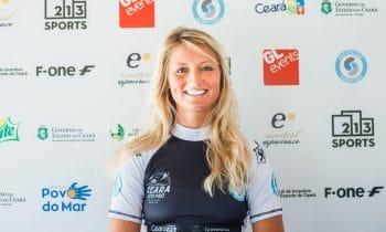 Beste Bergziege auf dem Kiteboard: Kitesurferin Susanne Schwarztrauber beendet Weltcup-Saison auf Rang sechs