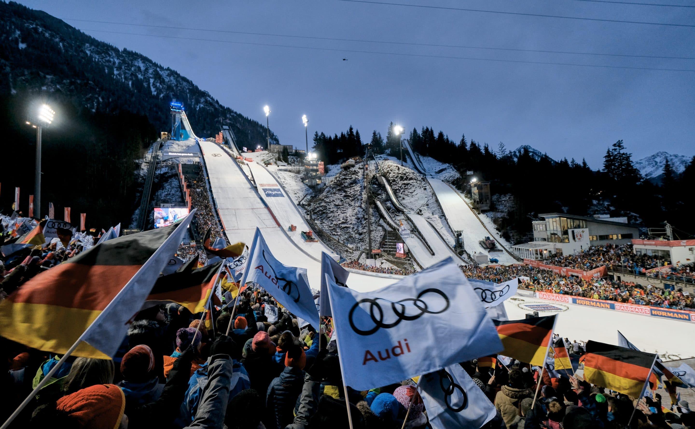 Erneut volles Stadion am Schattenberg – Alle Wettkampftickets für den Tourneeauftakt am 29. Dezember bereits weg