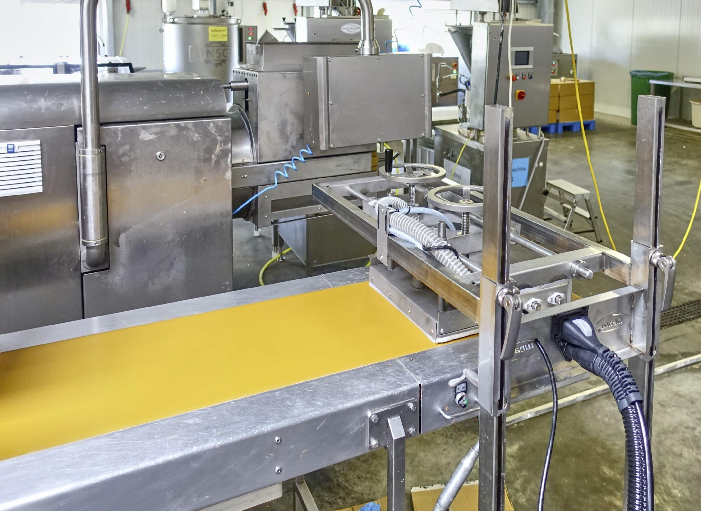 Food Industrie: Voller Erfolg für den BEbelt von beam – Bandreinigungssystem kommt hervorragend an und kann jetzt auch bis zu einer Breite von 650 mm maßgefertigt werden