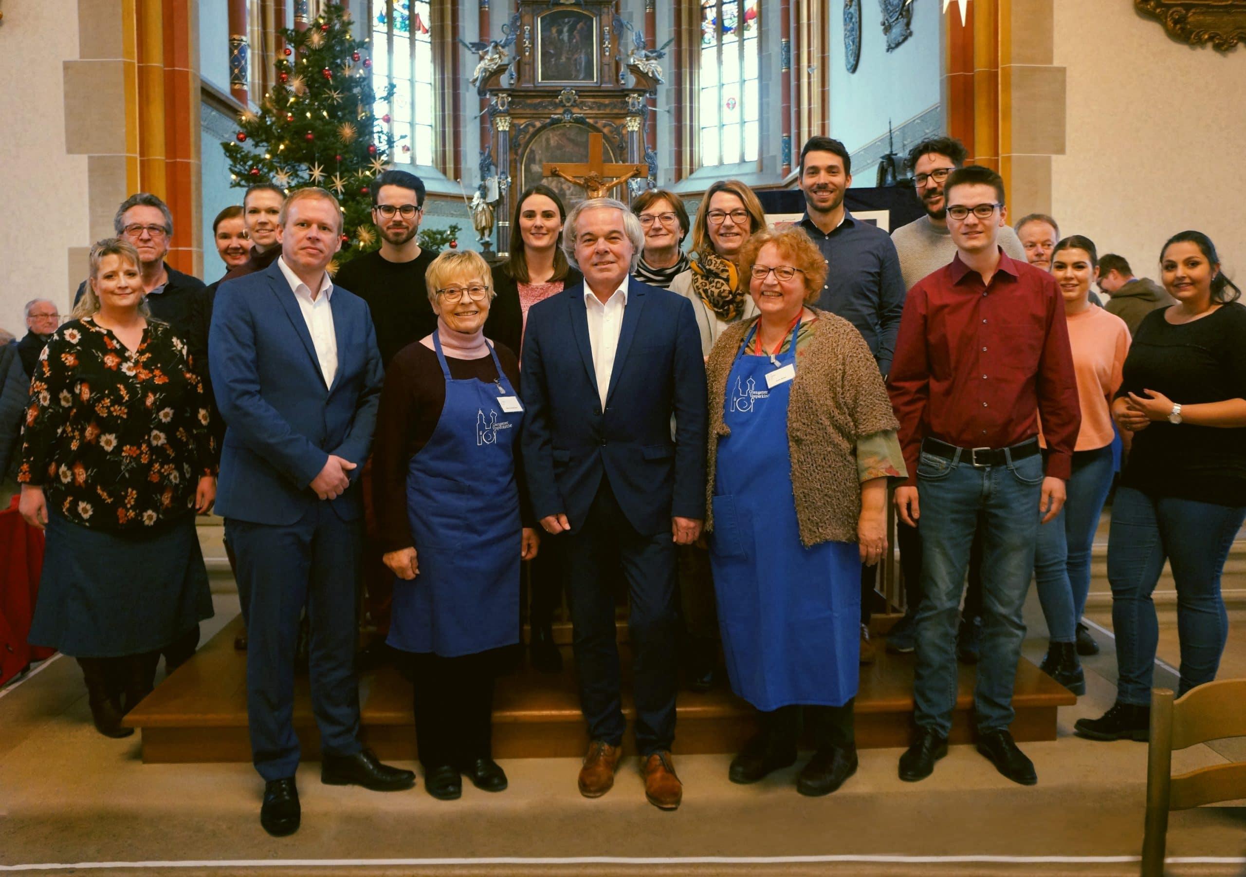 Kreisbau unterstützt Giengener Vesperkirche – Wohnungsunternehmen spendet erneut 1.000 Euro