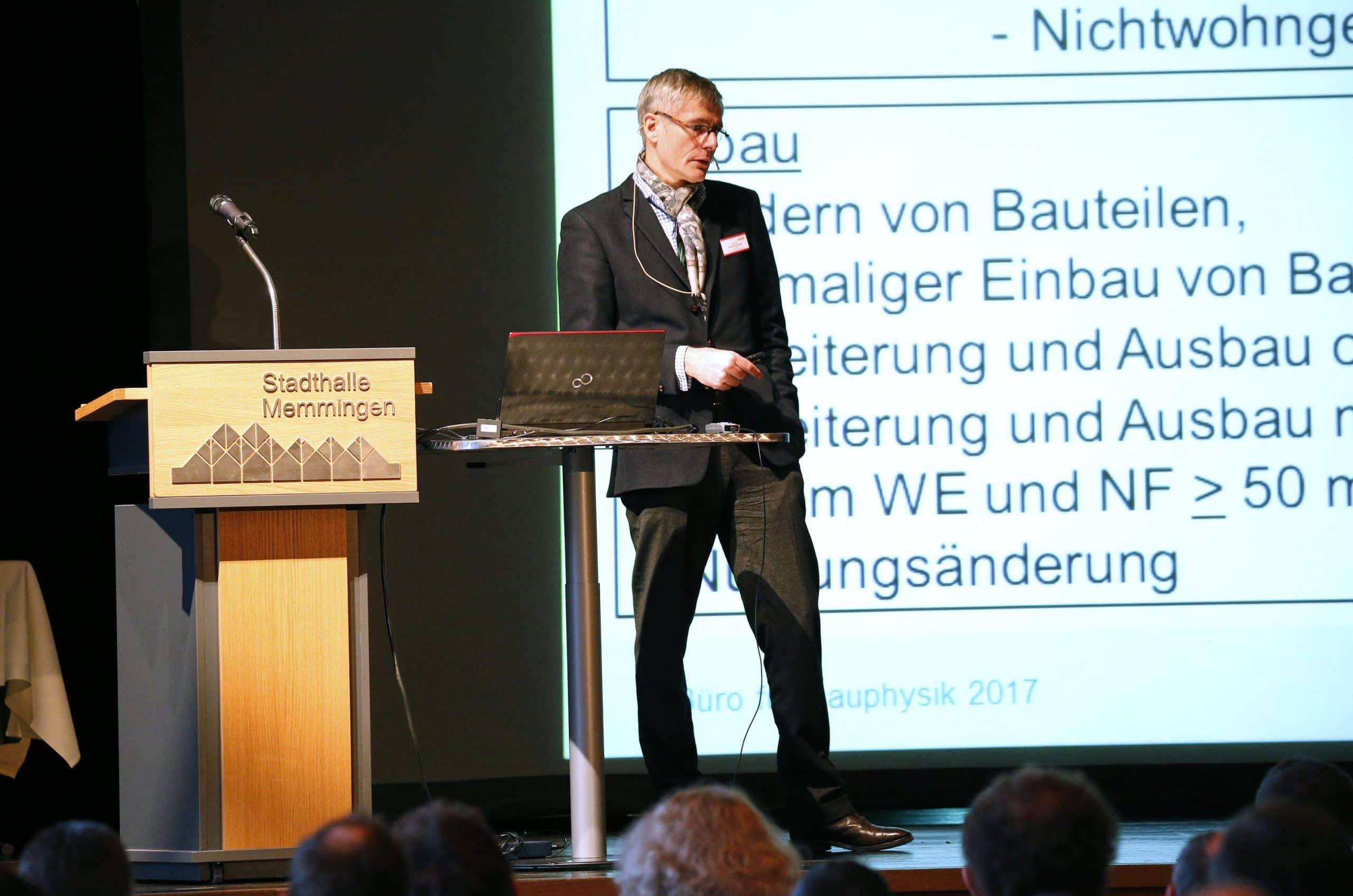 Nachhaltiger Mauerwerksbau im Fokus – Mauerwerkstag 2020 in Memmingen: Das neue Gebäudeenergiegesetz (GEG), die CO2-Bepreisung sowie eine energieeffiziente Gebäudeplanung stehen im Mittelpunkt
