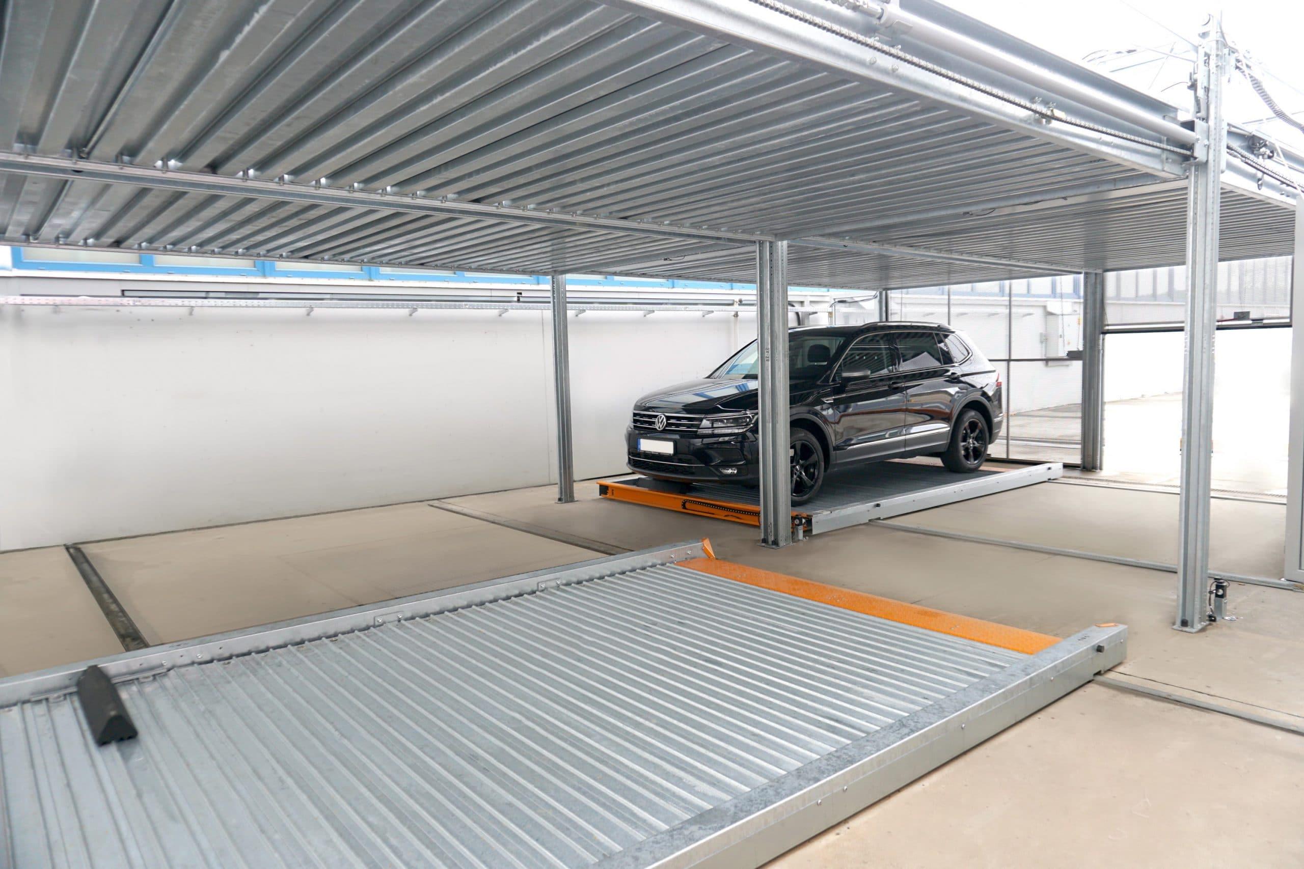 TrendVario: Schluss mit den Grenzen im Parkraum – KLAUS Multiparking: Bis zu 50 % mehr Stellplatzausbeute durch neues Systemkonzept