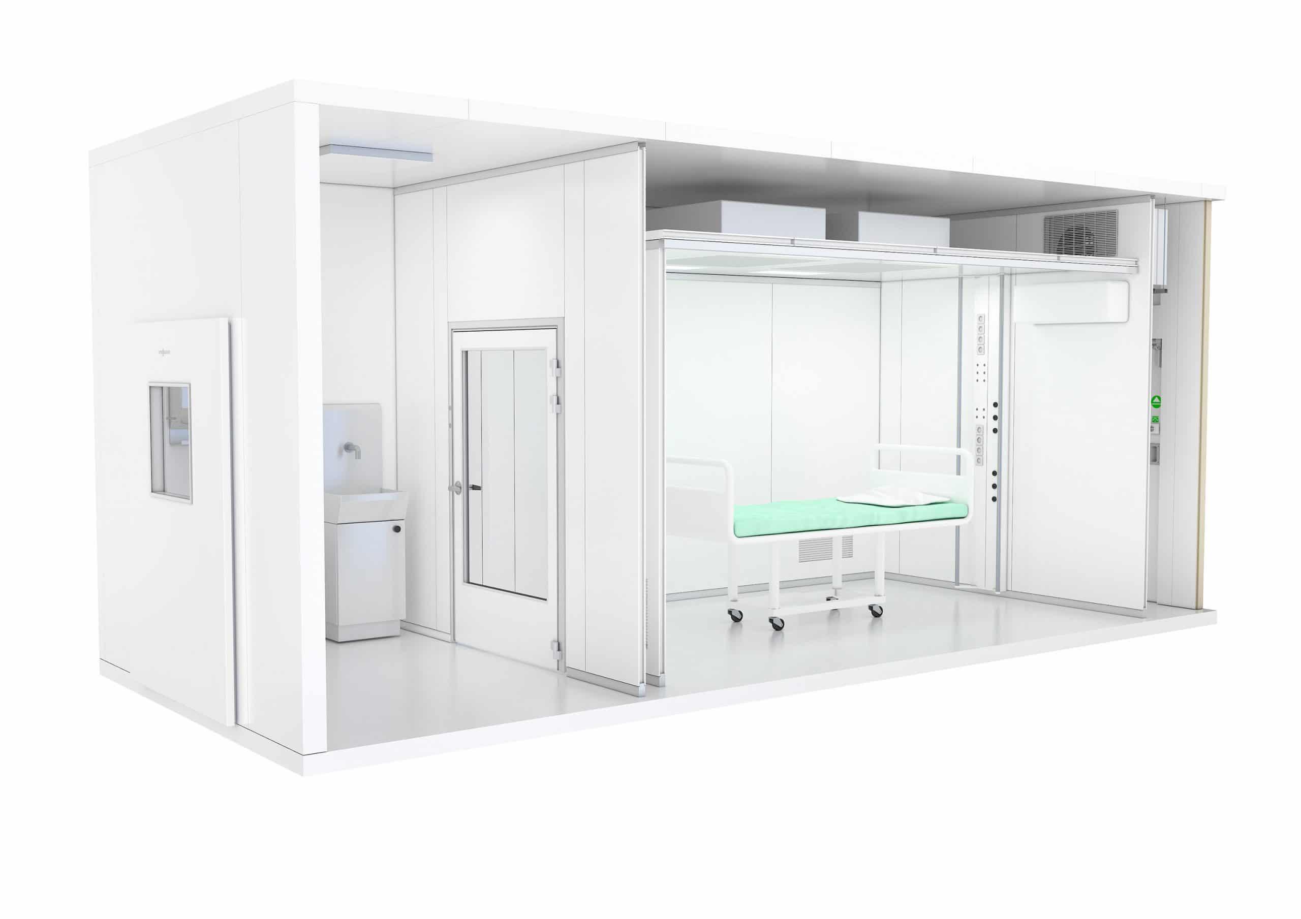 Vitec stellt modular vorgefertigte und flexible Intensivpflegeeinheiten vor
