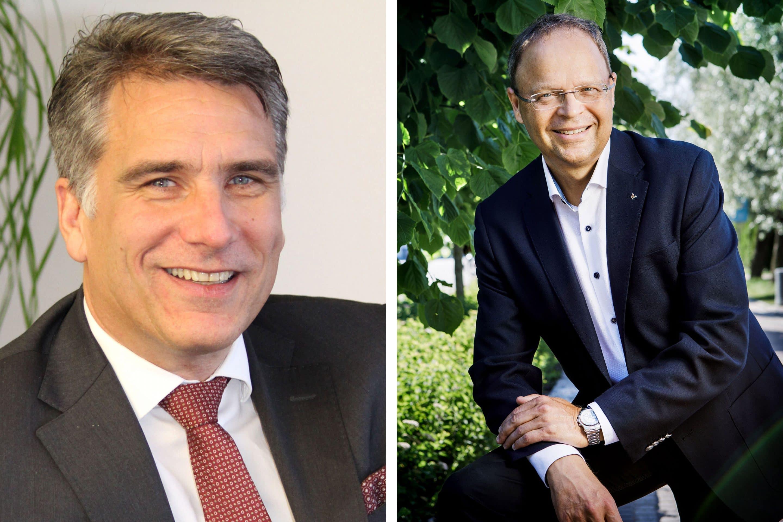 Udo Laeis und Joachim Schlichtig in die Geschäftsführung von Viessmann Refrigeration Solutions berufen