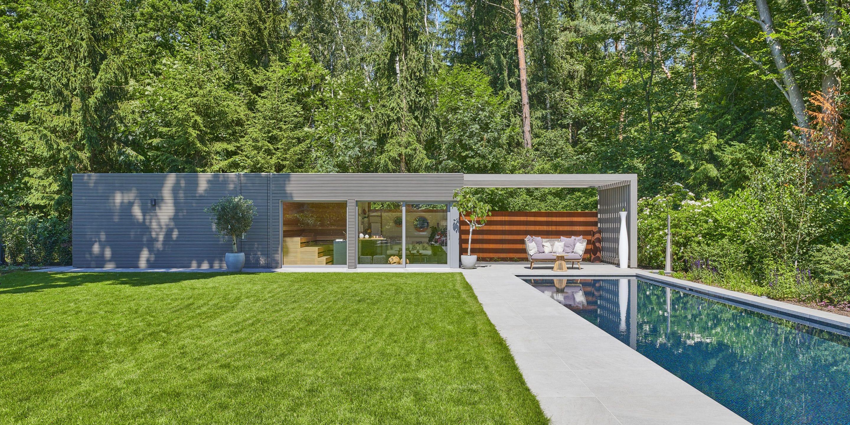 Die Luxussuite im eigenen Garten