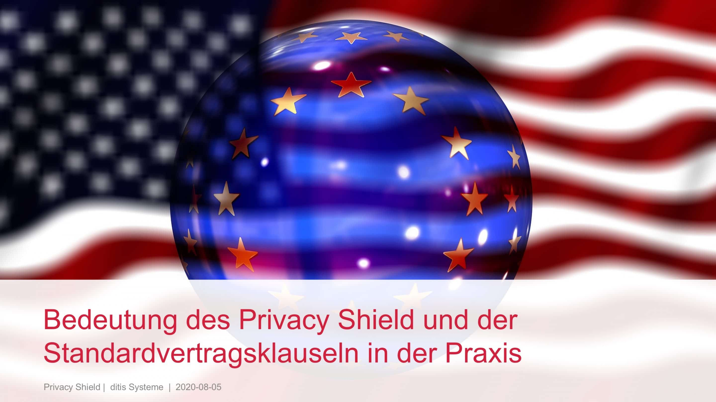 EuGH Privacy Shield ditis