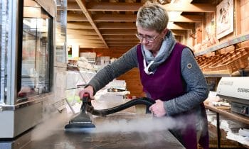 beam: Green Cleaning  im Lebensmittelmarkt