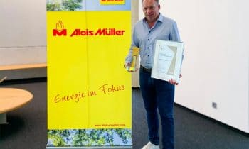 """Handelsblatt Energy Award für die CO2-neutrale Fabrik """"Green Factory"""" von Alois Müller"""