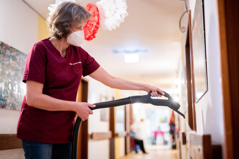 Natürliche Dampfpower für Top-Hygiene im Pflegeheim