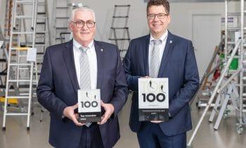 Fünf Auszeichnungen für die Günzburger Steigtechnik