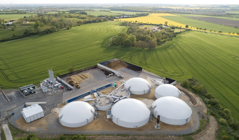 Auferstehung einer Ruine – die Biogaseinspeiseanlage in Gordemitz