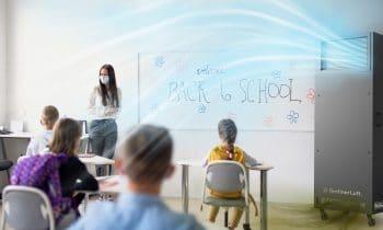 BerlinerLuft.Pure: Luft-Desinfektion im Klassenzimmer