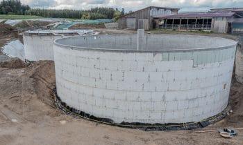 Eine runde Sache: JOMA sorgt für top gedämmte Biogasanlage